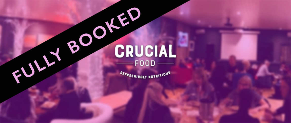 Crucial quiz 2019 banner fully booked