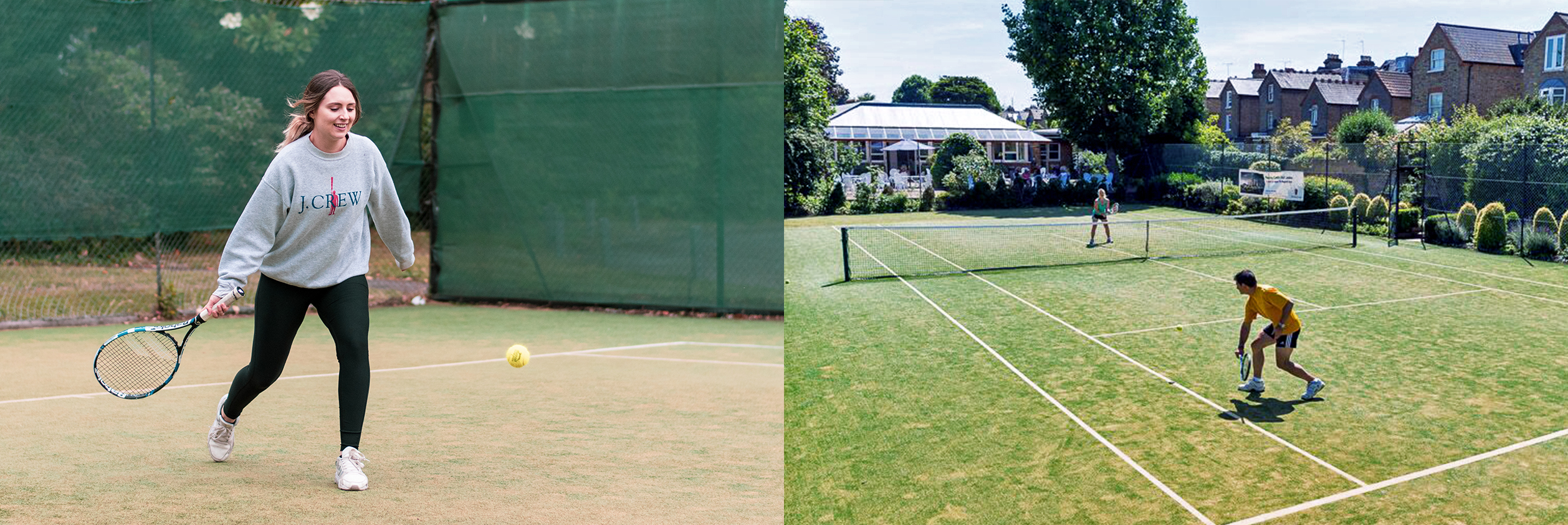 tennis at the Hogarth chiswick west london