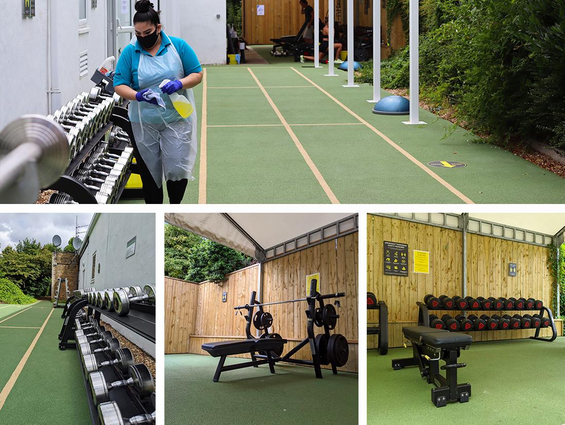 outdoor gym Hogarth club chiswick