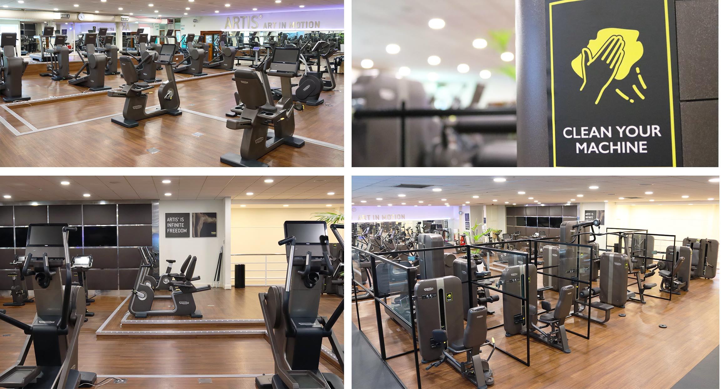 Hogarth gym chiswick social distancing