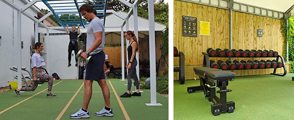 Hogarth outdoor gym