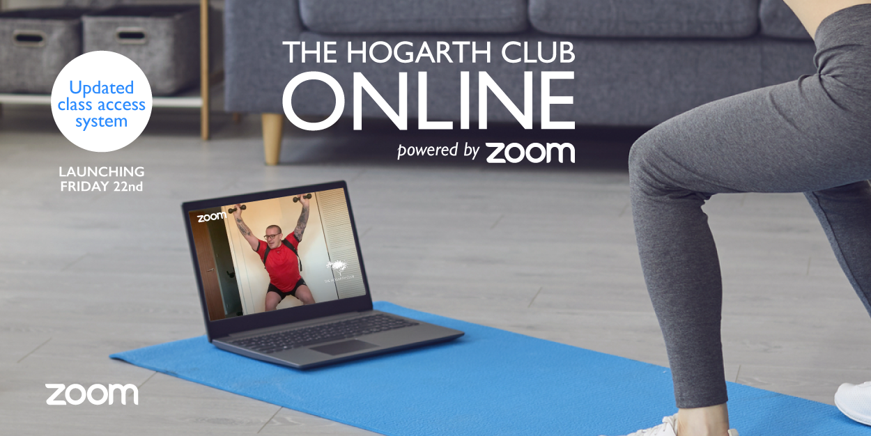 new Hogarth powered by zoom online live streamed classes login