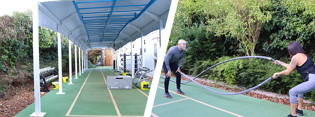 Hogarth outdoor gym chiswick west london