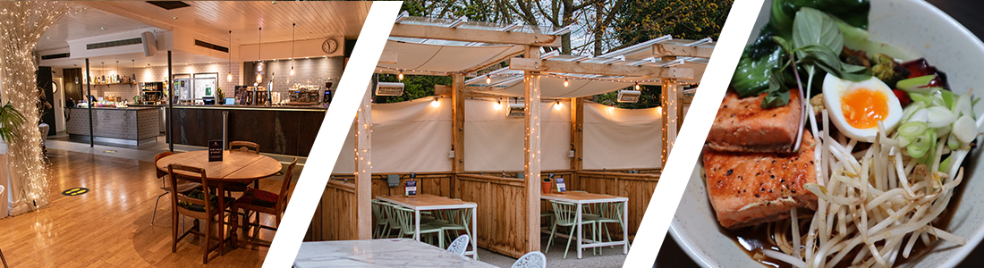 the airedale bar chiswick indoor and outdoor seating day and evening food