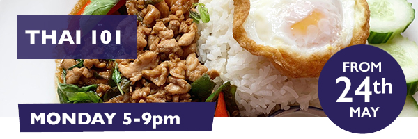 Thai 101 pop up at The Airedale on Mondays