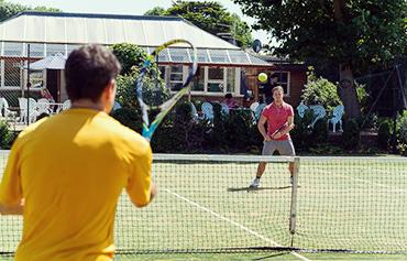 Tennis morning 370