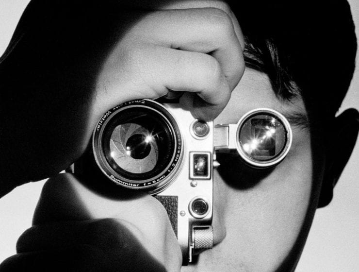 Andreas Feininger, The Photojournalist (Dennis Stock), New York