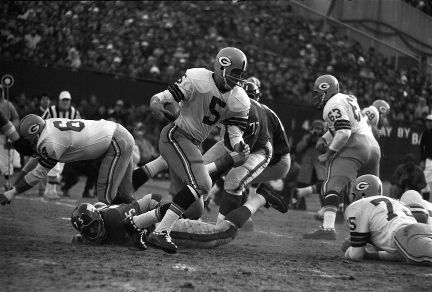 Green Bay Packers vs New York Giants, 1961, NFL Championship