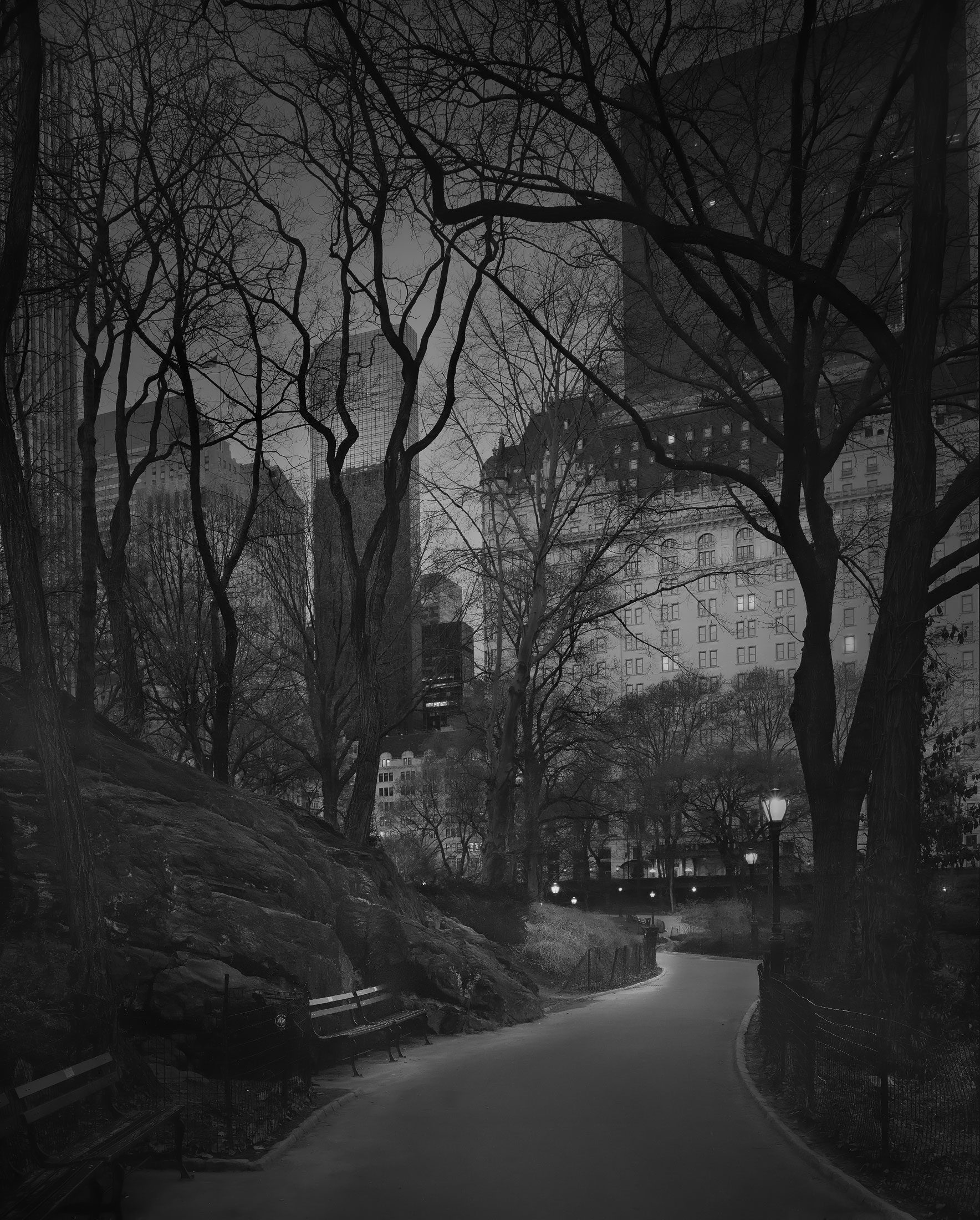 Deep In A Dream - Central Park - South Side View - 6am