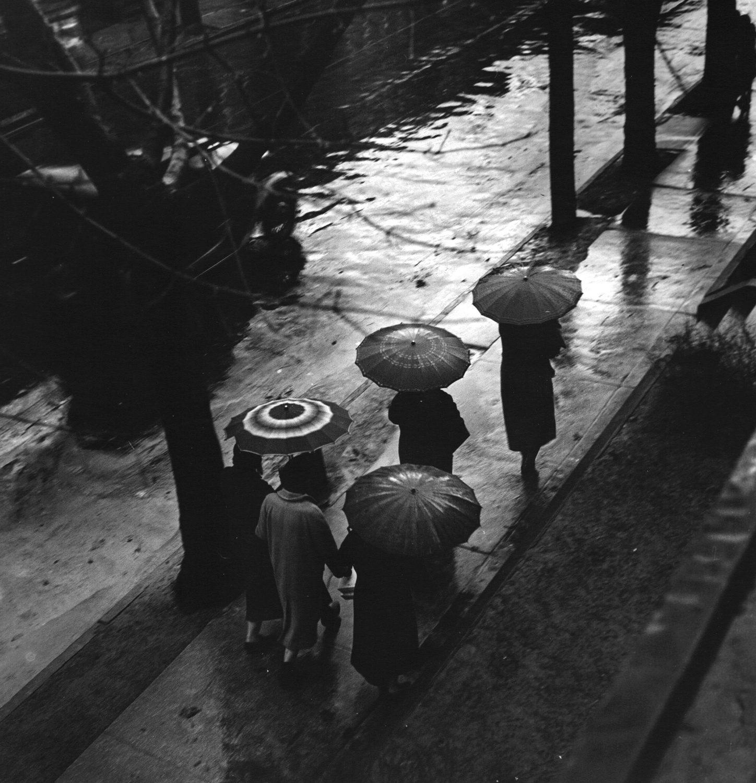 Rain Day in the City