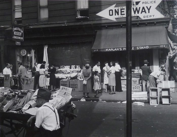 One Way at Kaplan's Stand, Lower East Side, N.Y. City