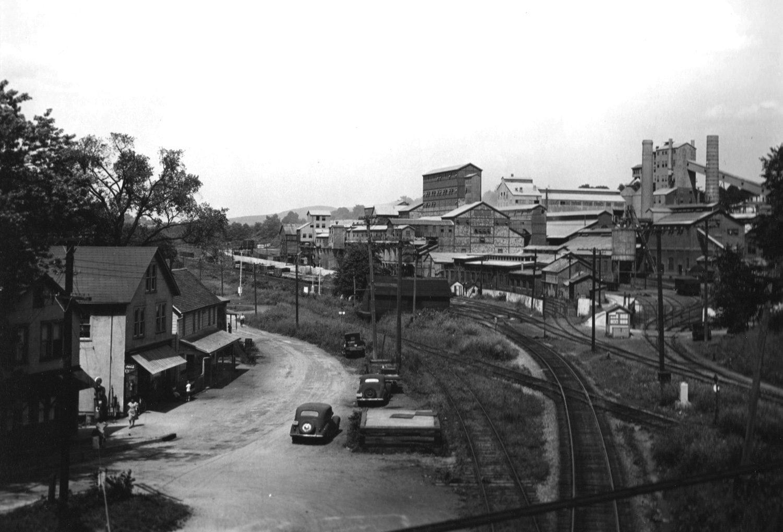 Panoramic View, Zinc Mine and Refinary, N.J.