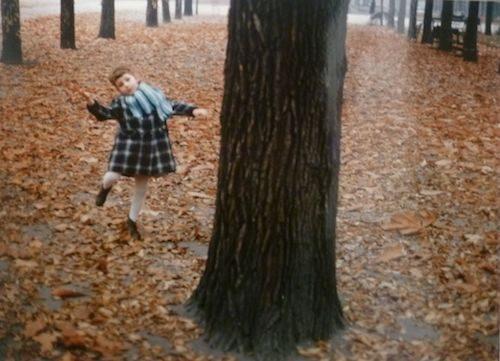 Little Girl Dancing in Bois, Paris