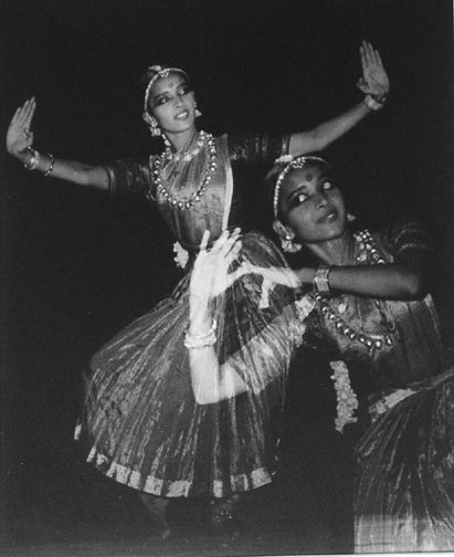 """Jankie In a Temple Dance called """"Bharat Natya"""" India"""