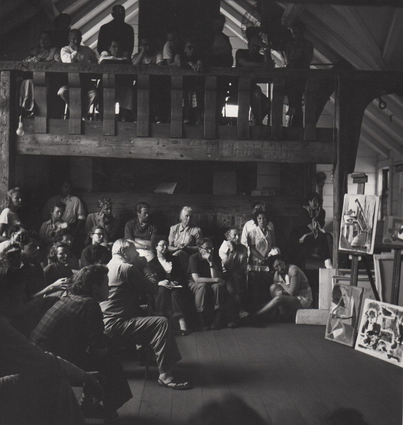 Hans Hofmann Friday Night Critique, 1948 - Provincetown, Ma. School (View #1)