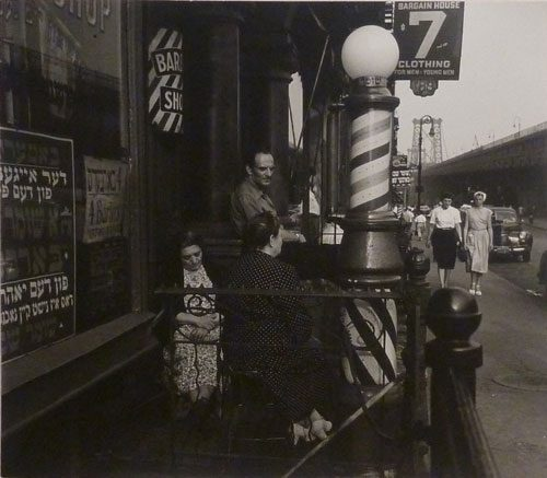 Four Barbers, Lower E. Side, N.Y.C.