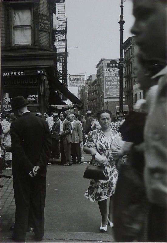 Crossing Ludlow Street, Lower East Side, N.Y.C.