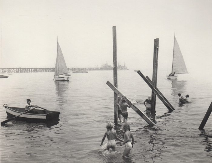 Children Swimming in Bay, Provincetown