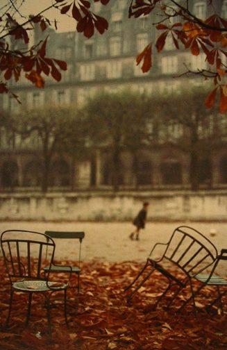 Autumn, Jardin Des Tuileries, Paris