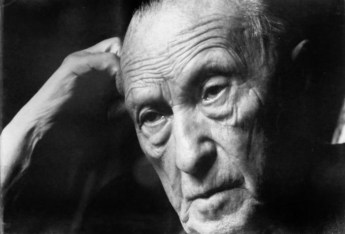 Portrait Konrad Adenauer in Cadenabbia
