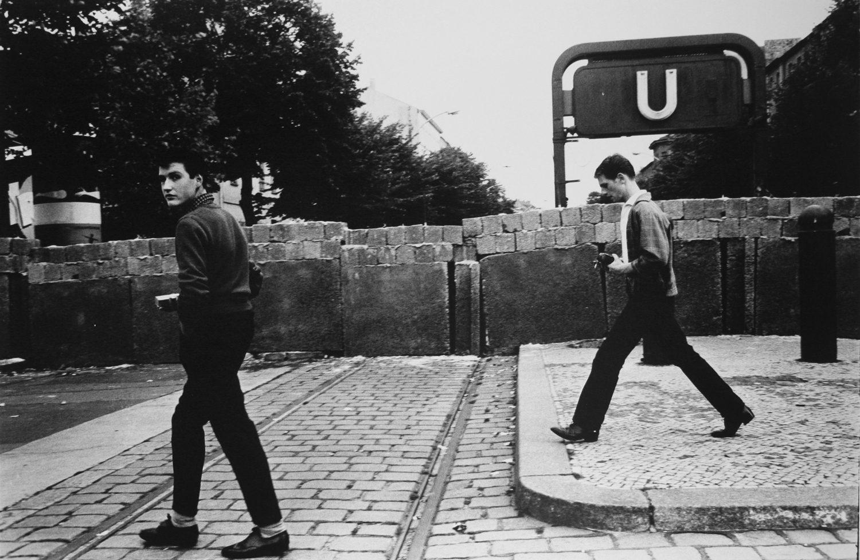 "2 Boys Along ""The Wall"", Berlin"