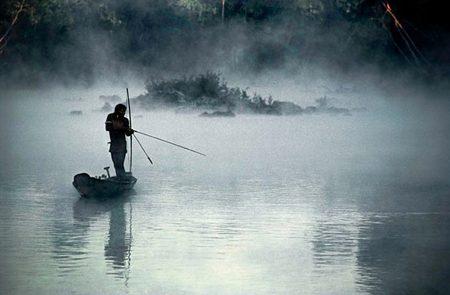 Kayapo Fisherman I (Gorotire Kayapo Reserve, Brazilian Amazon)