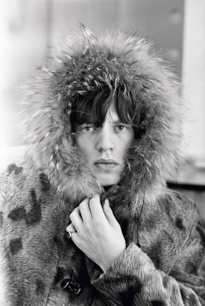 Mick Jagger, Fur Parka