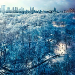 Central Park Snow, NYC, Day to Night