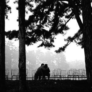 Amoureux bois de Boulogne (Love in a Paris park)