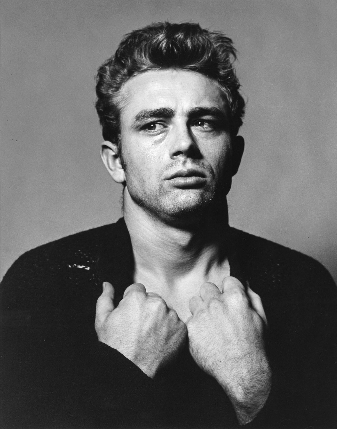 James Dean (from the Torn Sweater series)