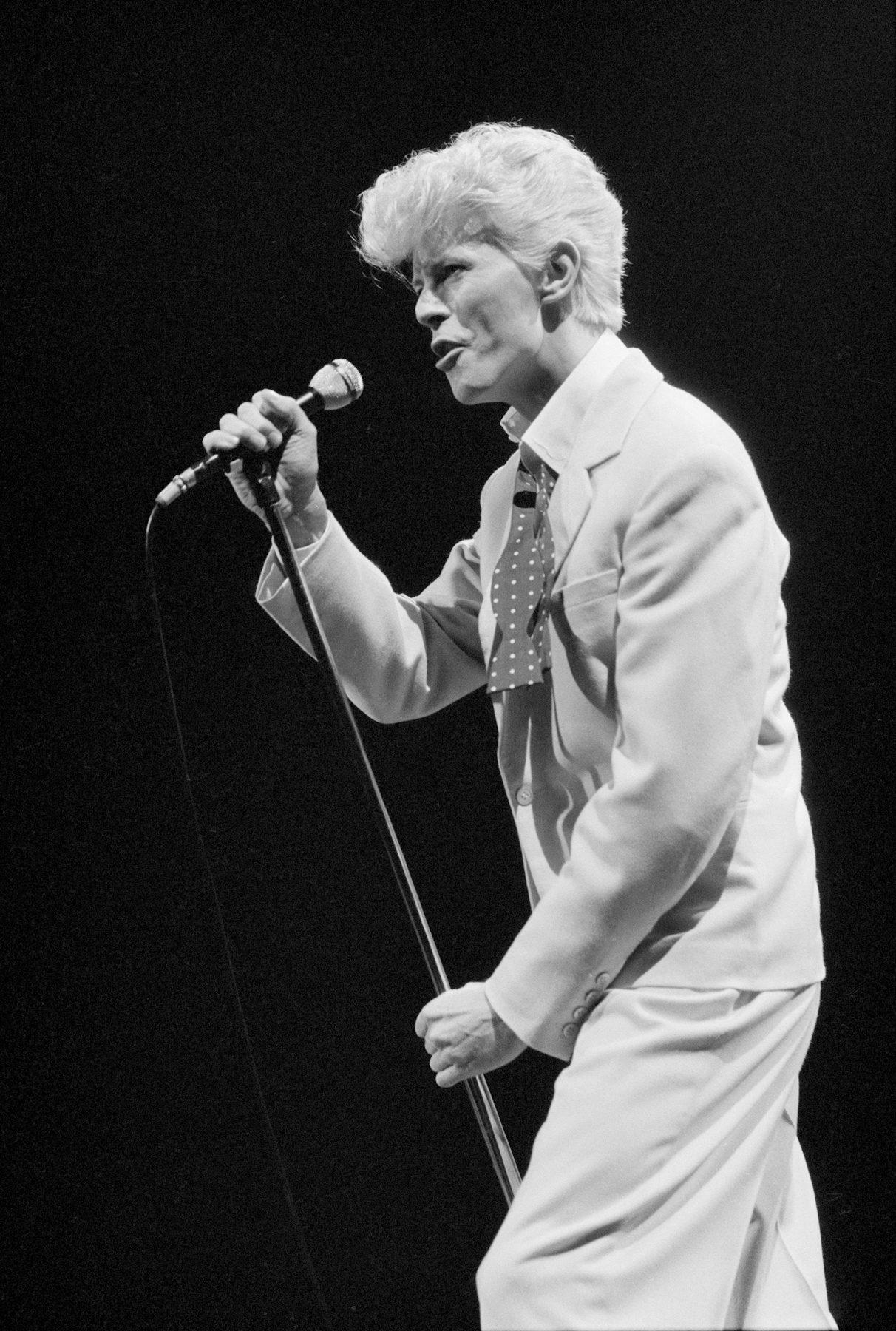 David Bowie at the Garden