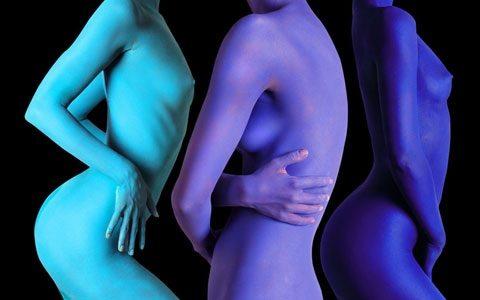 Linda Mason (England), Cuerpos Pintados - Painted Bodies