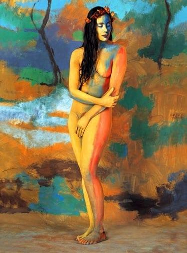 Jaime Zapata (Ecuador) # 204, Cuerpos Pintados - Painted Bodies