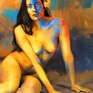 Jaime Zapata (Ecuador) # 200, Cuerpos Pintados - Painted Bodies