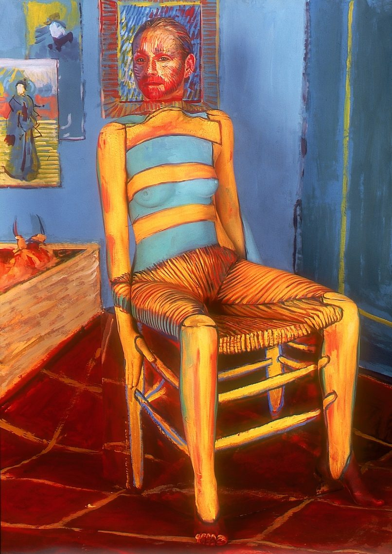 Jaime Zapata (Ecuador) # 197, Cuerpos Pintados - Painted Bodies