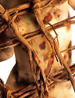 Gastón Ugalde (Bolivia) # 8, Cuerpos Pintados - Painted Bodies