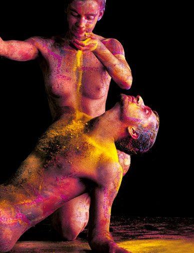 Gastón Ugalde (Bolivia) # 98, Cuerpos Pintados - Painted Bodies