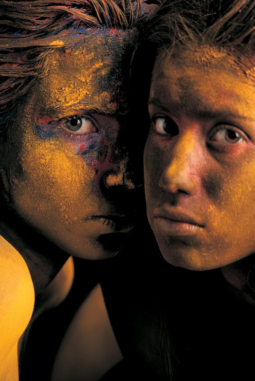 Gastón Ugalde (Bolivia) # 42, Cuerpos Pintados - Painted Bodies