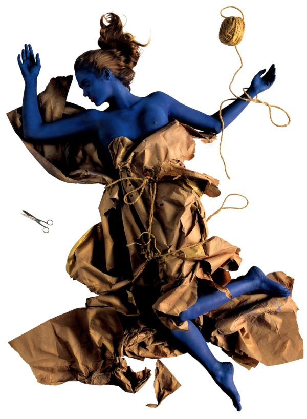 Benito Rojo (Chile) # 128, Cuerpos Pintados - Painted Bodies