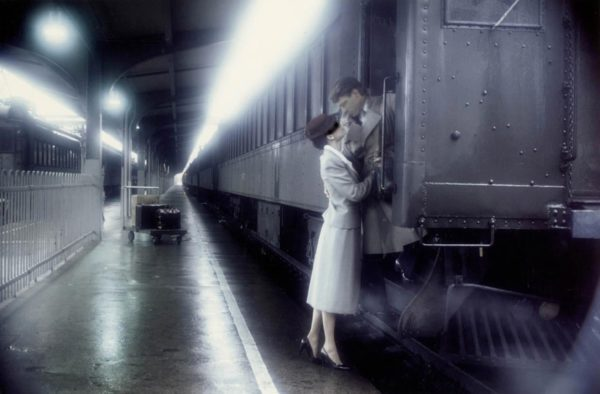 Kiss on the Train