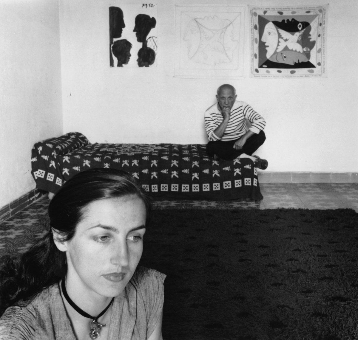 Picasso et Françoise Gilot