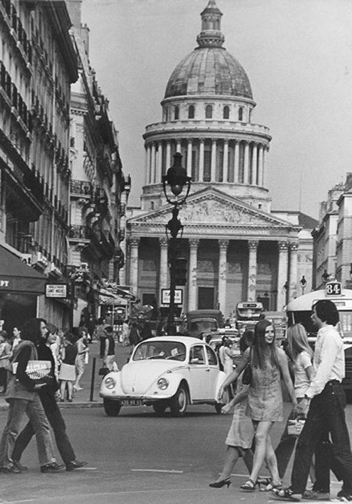 Pantheon Rue Soufflot, Paris