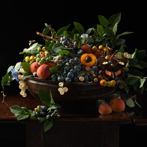 Blueberries and Apricots, After G.G.