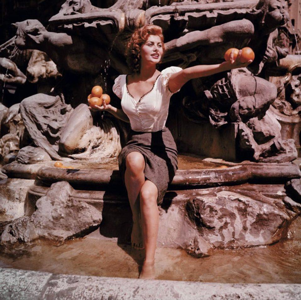Sophia in the Fountain