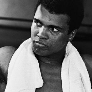 Muhammad Ali Training at Fifth Street Gym, Miami