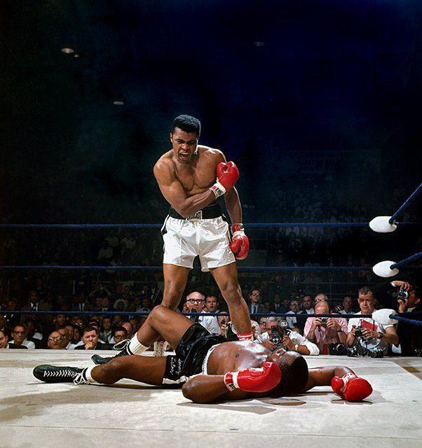 Ali/Liston - Muhammad Ali KO's Sonny Liston, Lewiston, ME