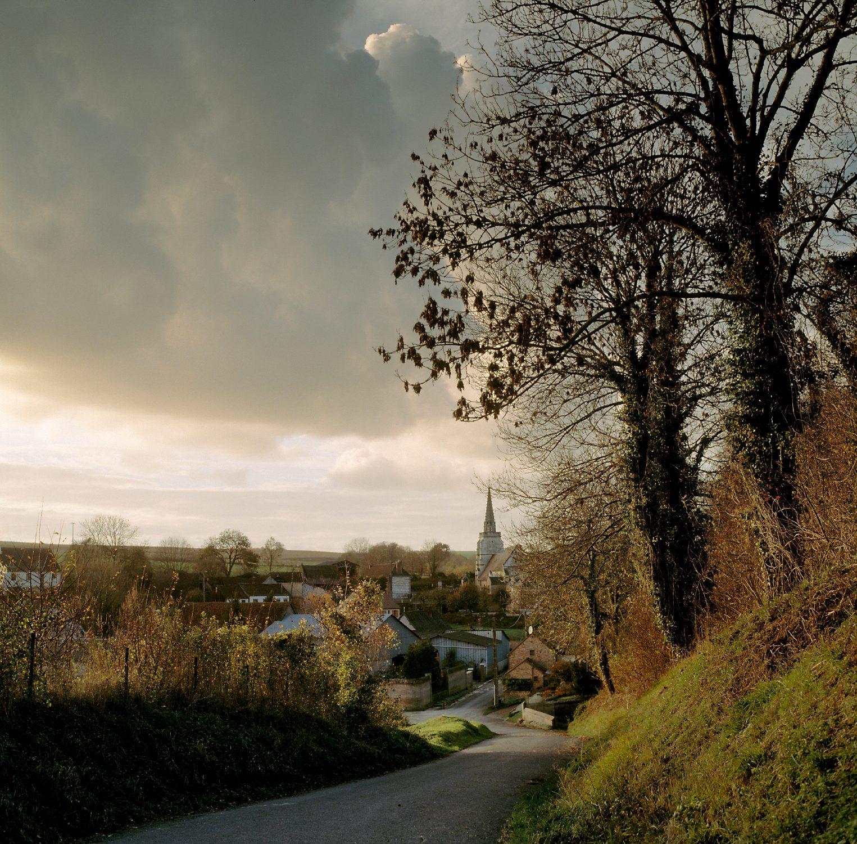 Village Landscape, Late Afternoon