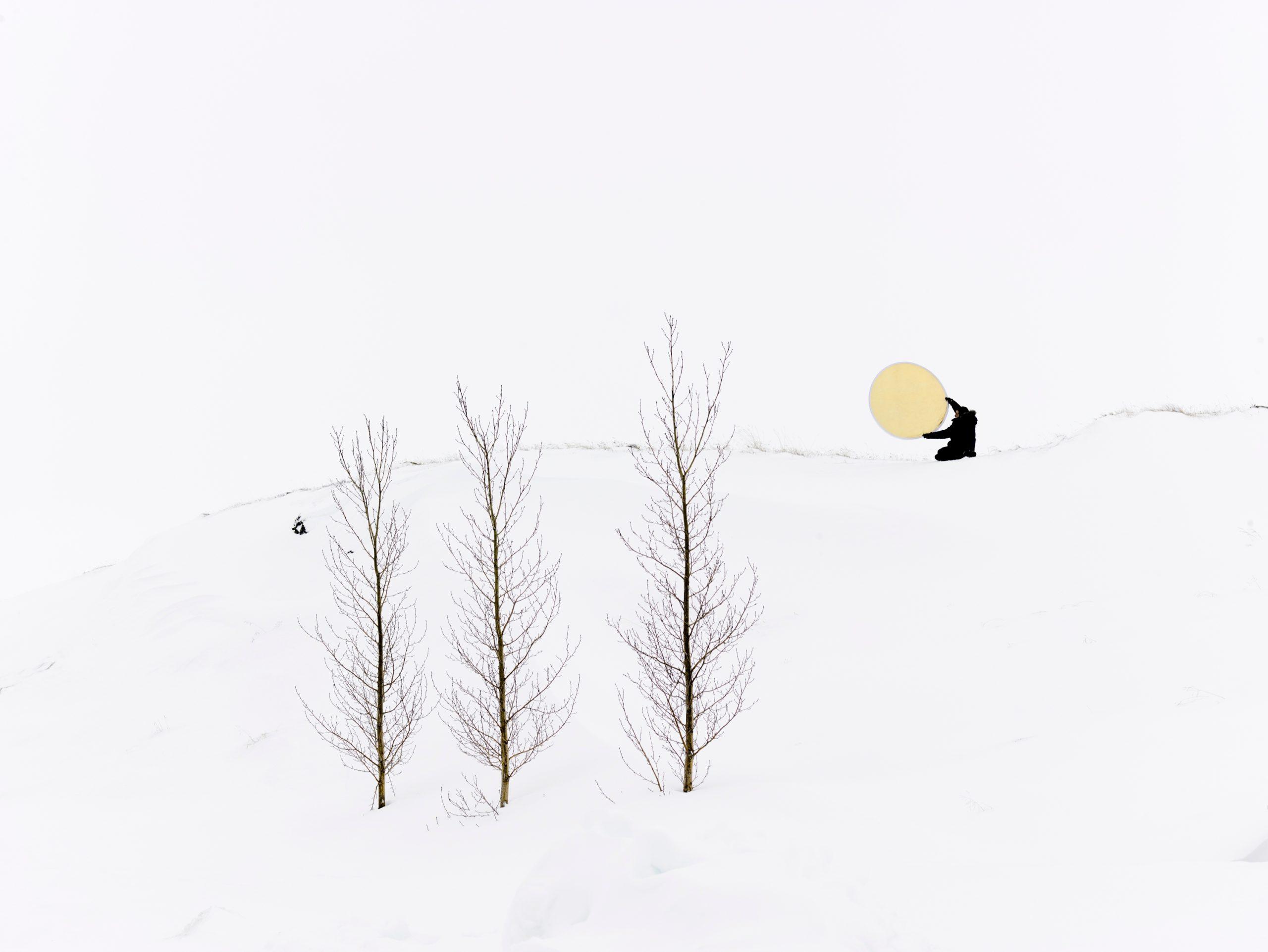 Raising the Sun on the Winter Solstice, Iceland