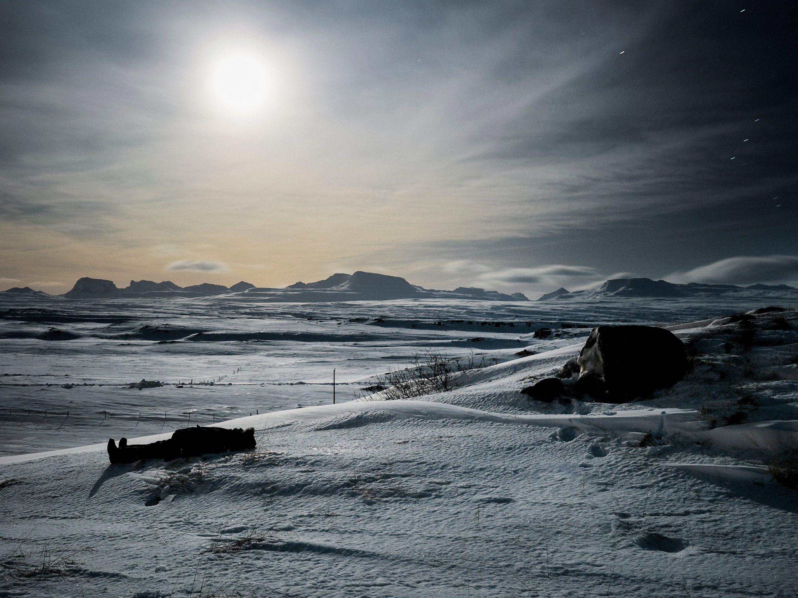 Moonstruck, Iceland