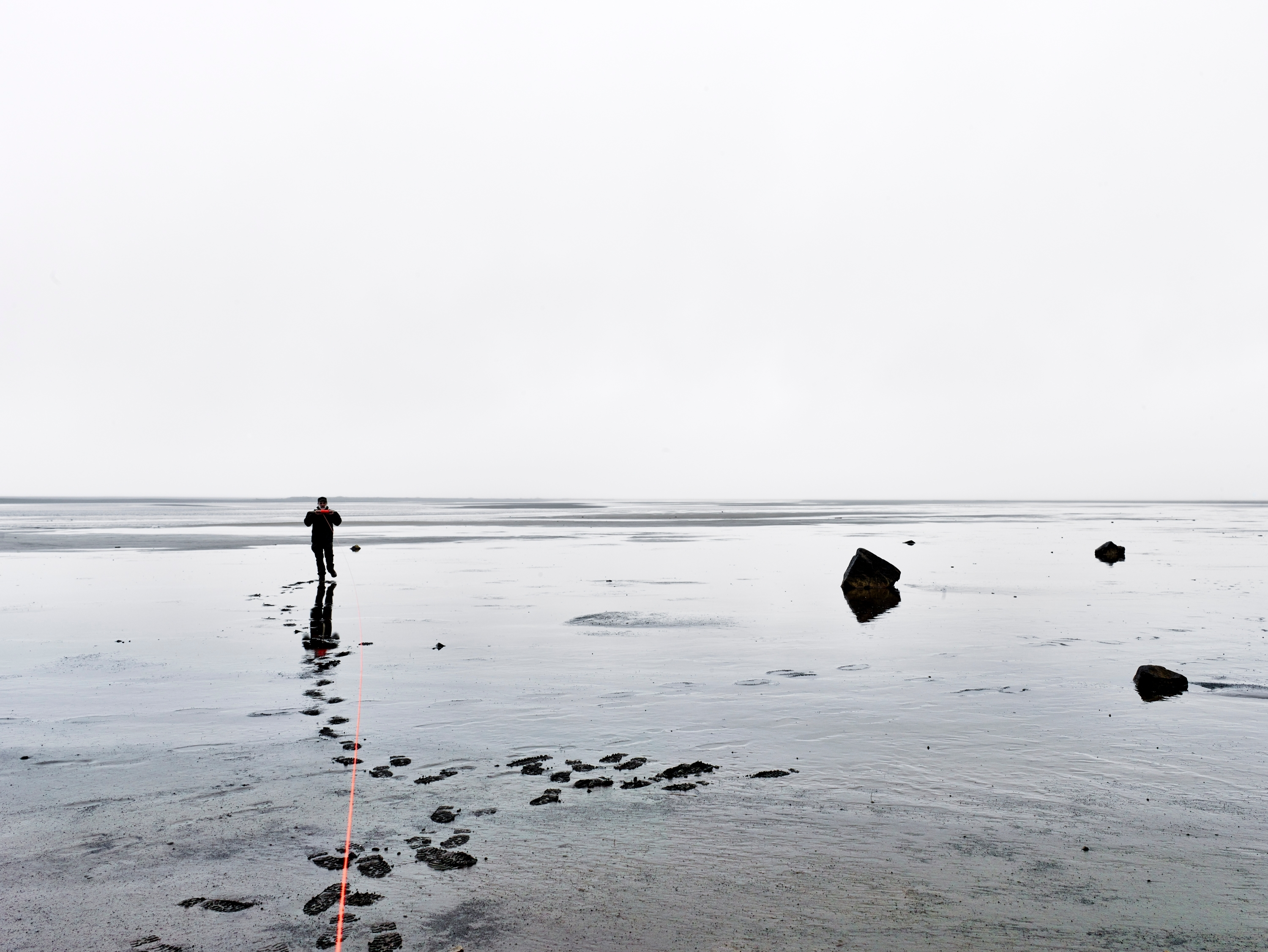 Measuring the distance to the Horizon, Iceland